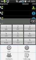 Screenshot of facecall