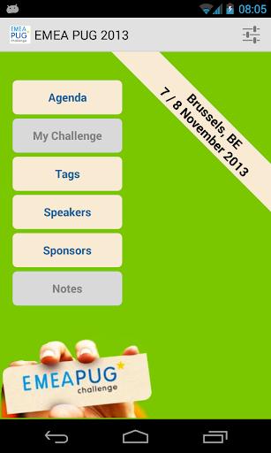 EMEA-PUG Challenge 2013