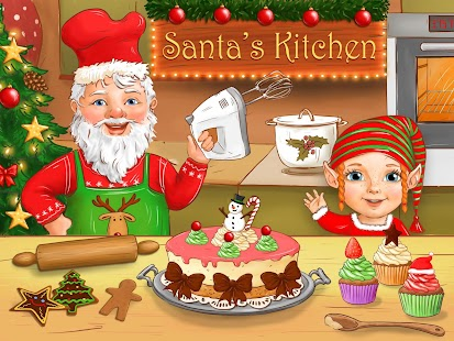 Santa's Christmas Kitchen- screenshot thumbnail