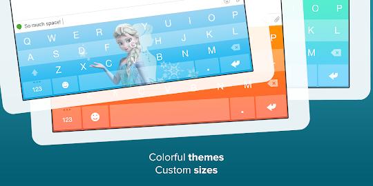 Fleksy Keyboard Screenshot 4