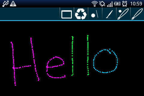 Draw Chat for GTalk - screenshot