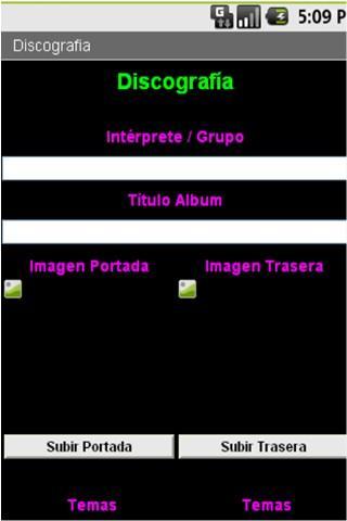 Libros, Discos y Videoteca - screenshot