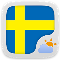 Swedish Language GOWeatherEX icon