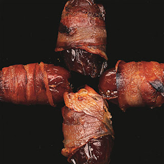 Pancetta-Wrapped Dates Stuffed with Manchego Cheese and Mint