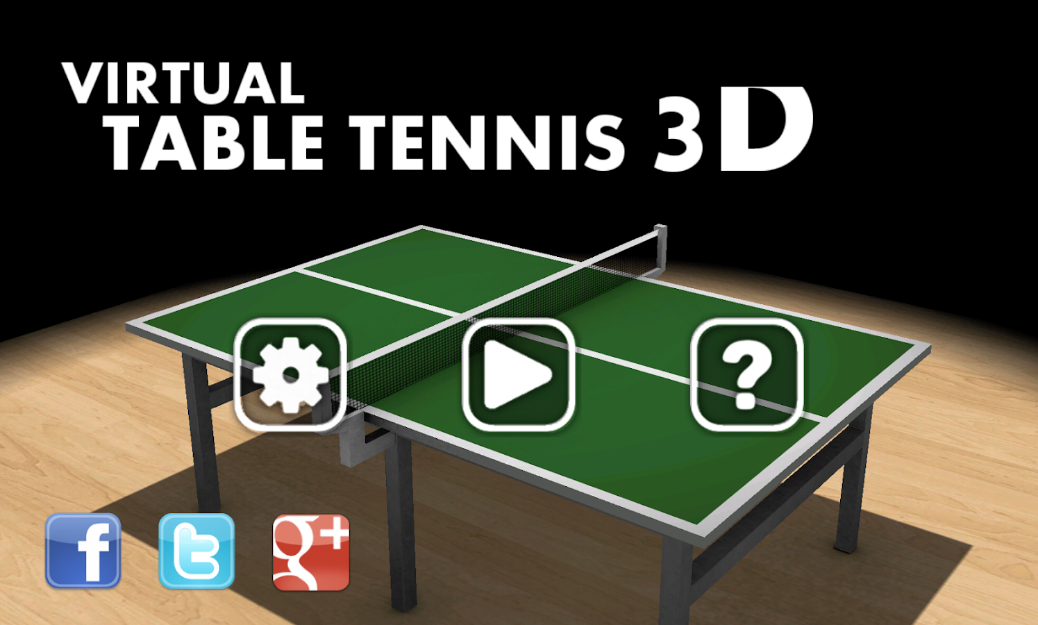 Virtual Table Tennis 3D Pro- screenshot