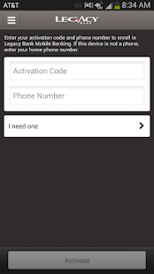 Legacy Bank Mobile - screenshot thumbnail