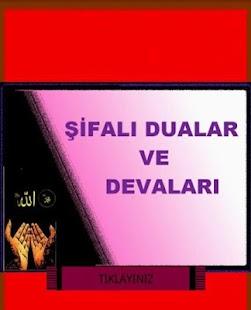 DUALAR, ŞİFALI DUALAR - screenshot thumbnail