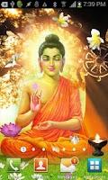 Screenshot of Gautama Buddha Live Wallpaper