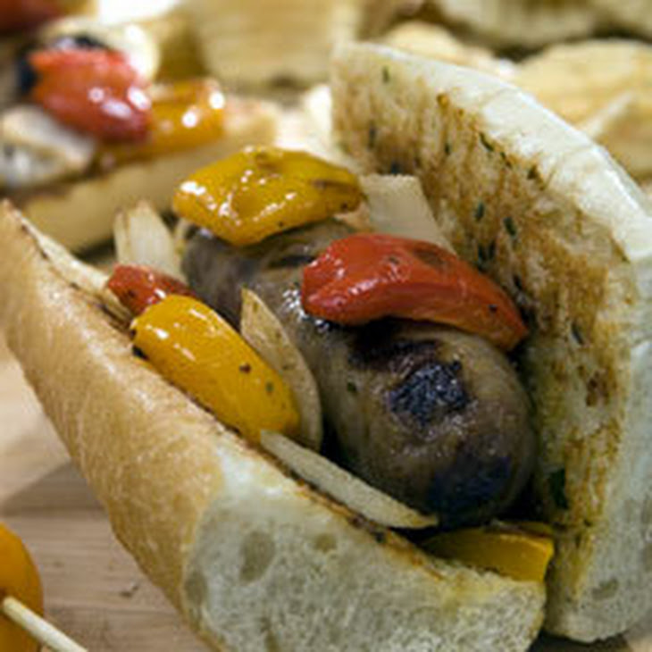Pit Road Sausage & Peppers Subs Recipe