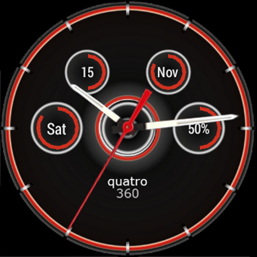 Quatro Watch Face for Wear