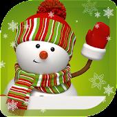 Snowman Winter live wallpaper