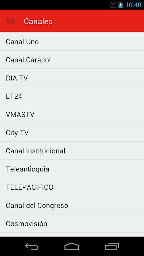 Televisión Colombiana Guía