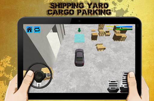 海運貨物堆場3D停車場