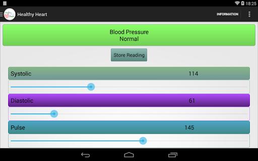 Blood Pressure Healthy Heart