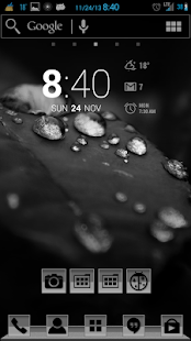 The Greys Apex/Nova/ADW Theme- screenshot thumbnail