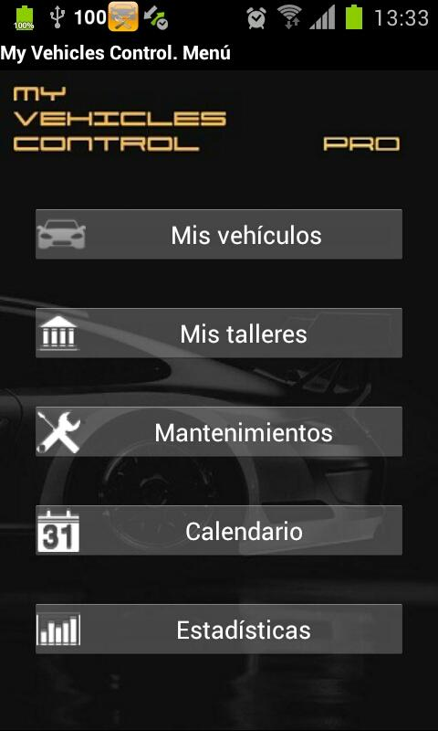 My Vehicles Control MobileLite - screenshot