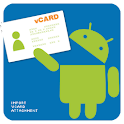 Import vCard Attachment logo