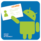 Import vCard Attachment icon