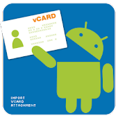 Import vCard Attachment