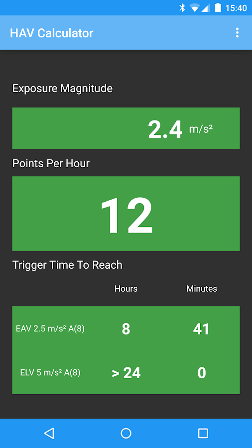 hav calculator  u2013 android apps on google play