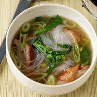 Cantonese Roast Duck Soup Noodles.