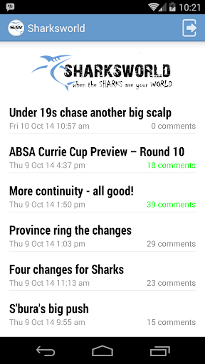 Sharksworld for Android