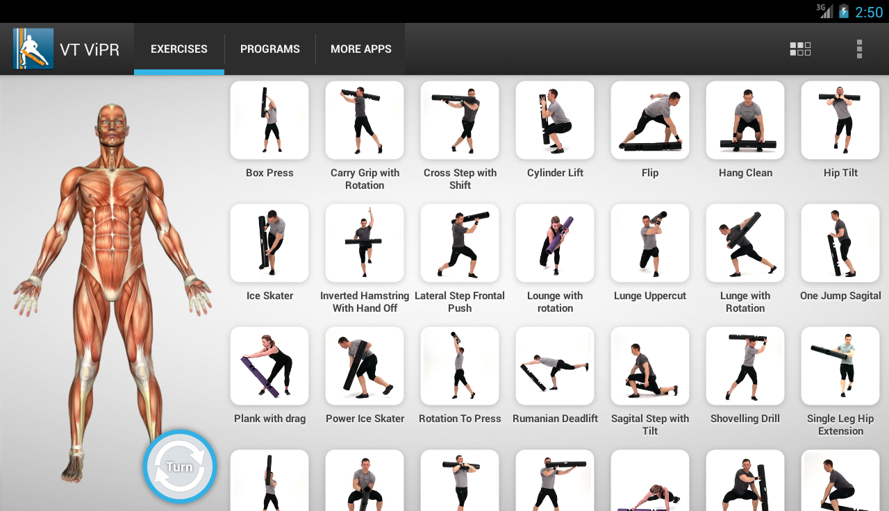 Virtual trainer vipr android apps on google play virtual trainer vipr screenshot nvjuhfo Choice Image