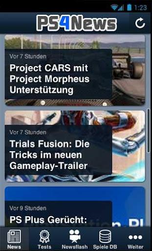 PS4NEWS.AT PS4 News App