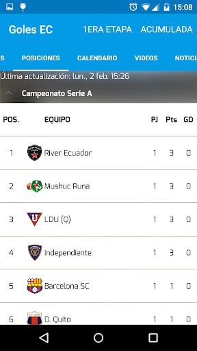 Goles EC (Fútbol Ecuador) for PC