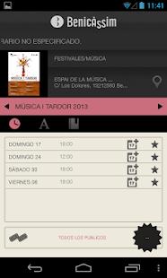 Benicassim Cultura - screenshot thumbnail