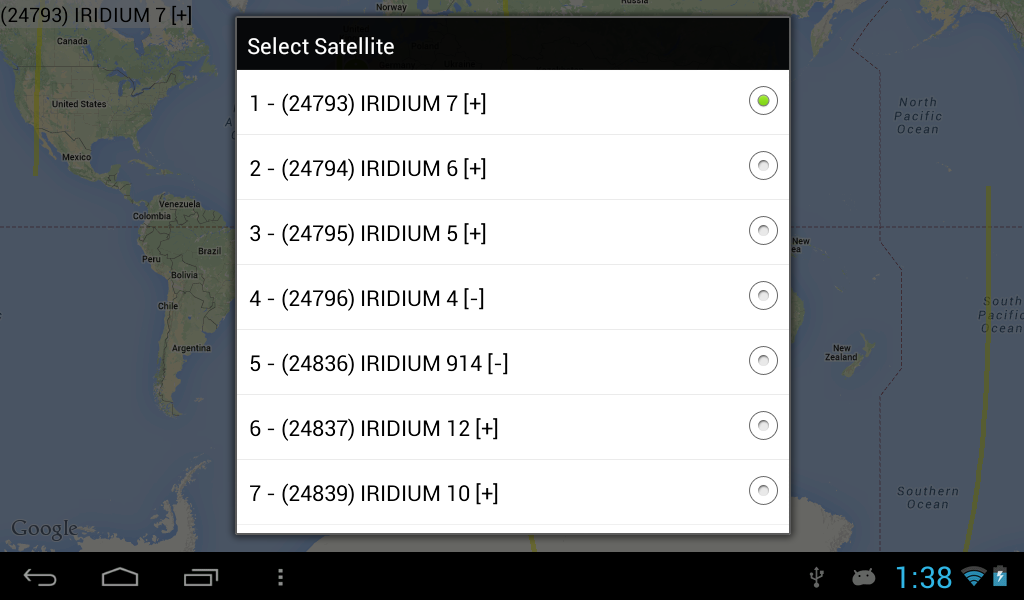 Iridium- screenshot