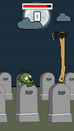 Zombie Head Chop