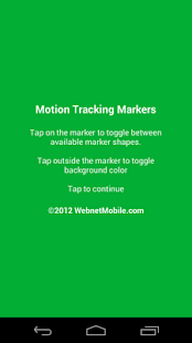 Motion Tracking Markers - screenshot thumbnail