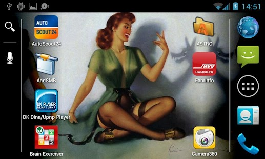 Pin-Up Plus Live-Wallpaper - screenshot thumbnail