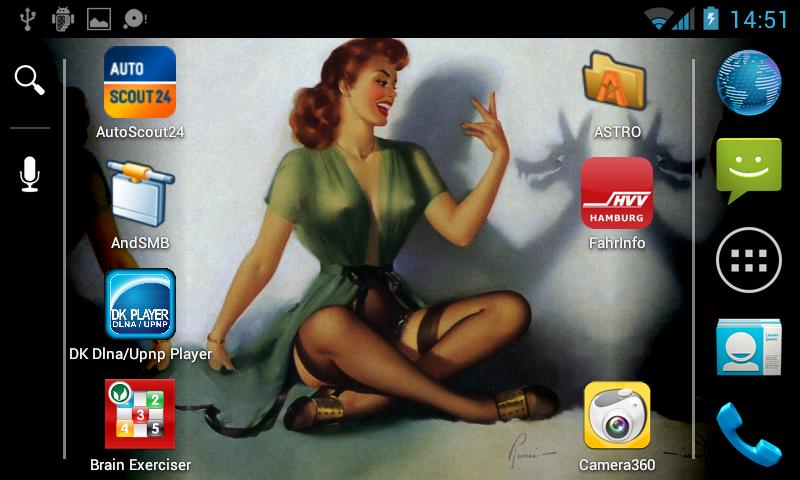 Pin-Up Plus Live-Wallpaper - screenshot
