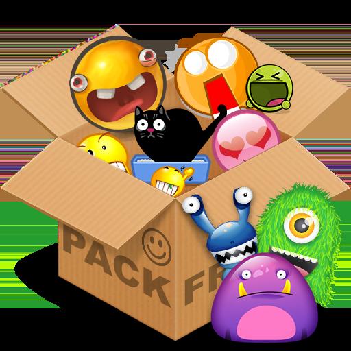 程式庫與試用程式App|Emoticons pack, Monsters LOGO-3C達人阿輝的APP