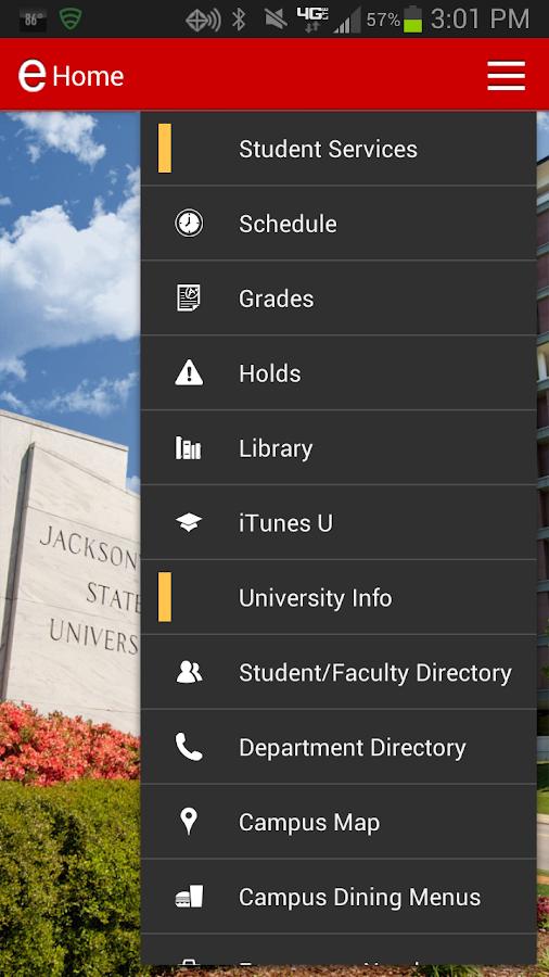 MyJSU Mobile - screenshot