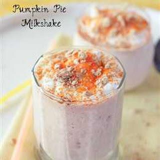 Caramel Pumpkin Pie Milkshake.