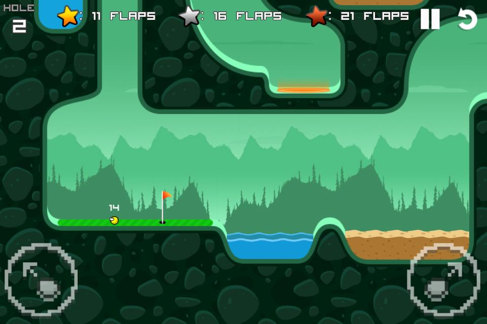 Flappy Golf screenshot #2
