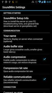 SoundWire (free version) v2.1.2