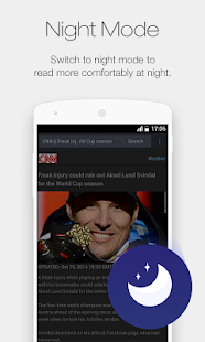 UC Browser Mini for Android - screenshot thumbnail