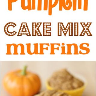 Pumpkin Cake Mix Morning Muffins Recipe!