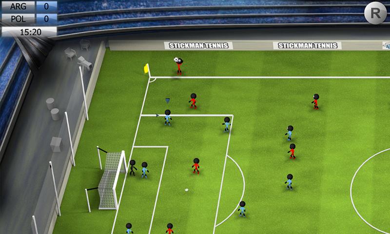 Stickman Soccer 2014 screenshot #11