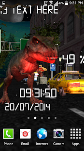 T-REX King Live wallpaper Lite