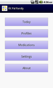 RX Pal Family Pill Minder Free- screenshot thumbnail