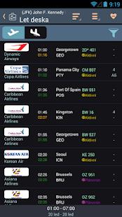 Letová tabule - FlightHero Pro - náhled