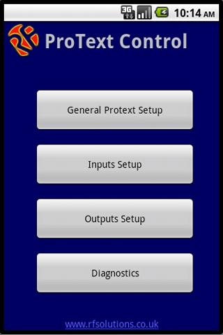 PROTEXT Control - screenshot