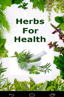 Herbs For Health screenshot for Android