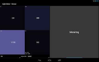 Screenshot of Light Meter Tools