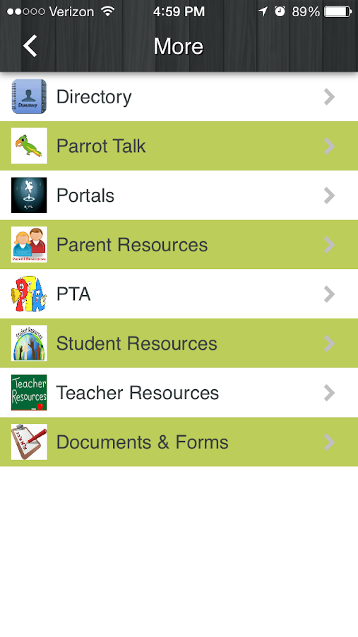Pinecrest Elementary- screenshot